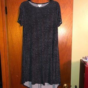 EUC - Lularoe Carly T-shirt dress